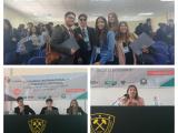 """Estudiantes Derecho participan del I Congreso Internacional """"La educación del Derecho: una mirada desde el estudiante""""."""