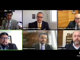 Docentes de Antofagasta participan en Segundo Congreso de Profesores de Derecho Civil UCN