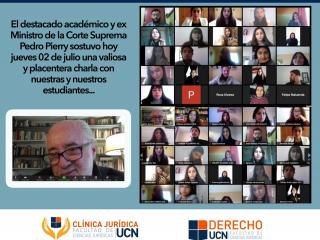 Charla Virtual a cargo de Pedro Pierry