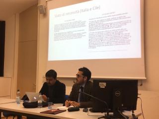 Dr. Juan Pablo Castillo Morales realizó estancia de investigación en Italia.
