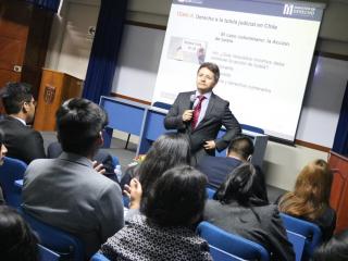 Internacionalización: Dr. Francisco Sanz expuso en Perú sobre proceso constituyente chileno